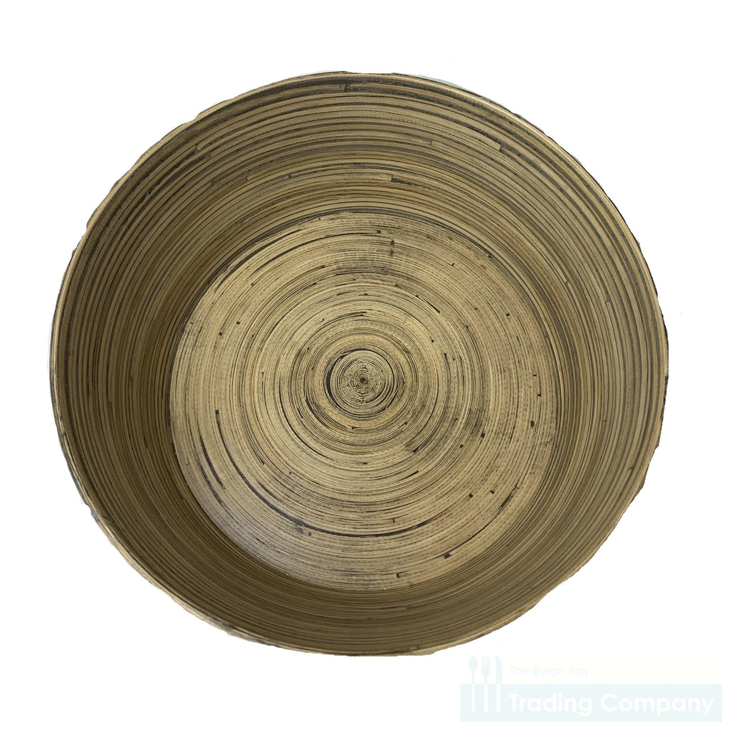 Bamboo Salad/Server Bowl 38cm
