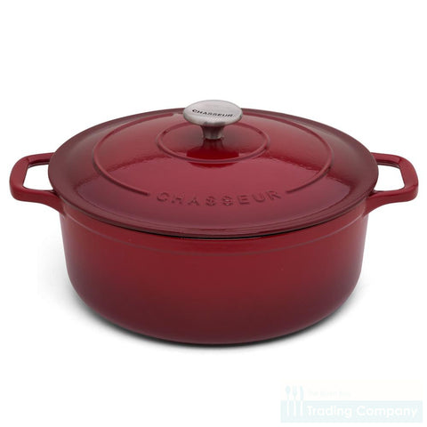 Chasseur Round French Oven 26cm Bordeaux