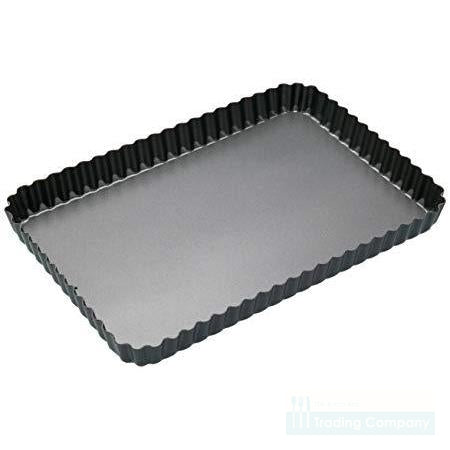 International Bakeware Fluted Flan/Quiche Pan 32 X 22 X 3cm