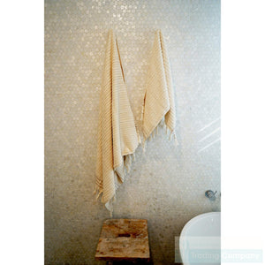 Beige Bath Towels