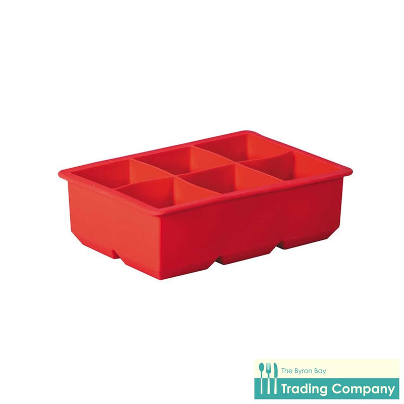 Avanti King Ice Cube Tray - Red-Byron Bay Trading Company