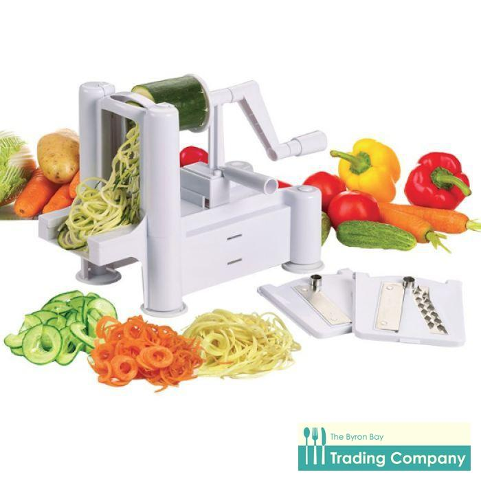 Avanti Spiretti Fruit and Vegetable Spiralizer-Byron Bay Trading Company