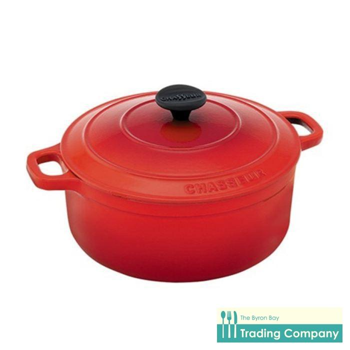 Chasseur French Oven 26cm/5.2L Inferno Red-Byron Bay Trading Company