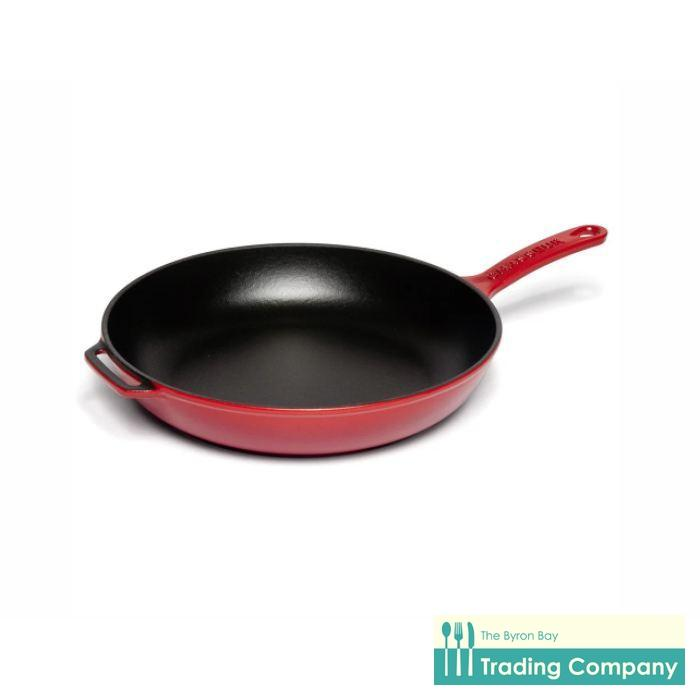 Chasseur Inferno Red Round Frypan 28cm-Byron Bay Trading Company