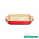 Chasseur La Cuisson Extra Large Baker Red-Byron Bay Trading Company