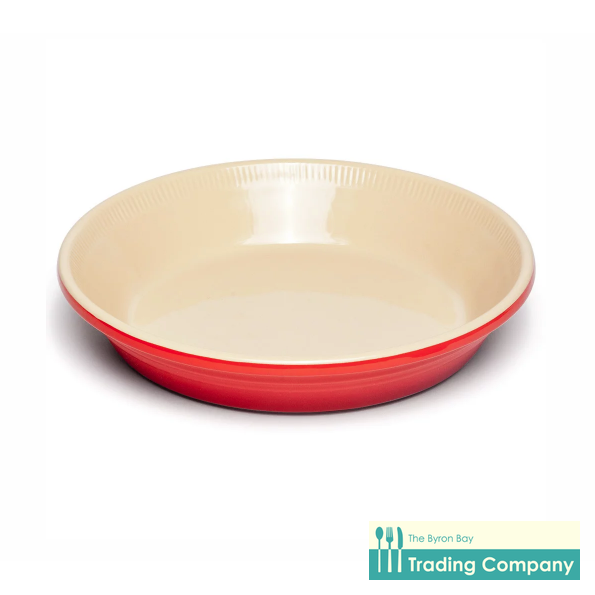 Chasseur La Cuisson Pie Dish 25cm Red-Byron Bay Trading Company