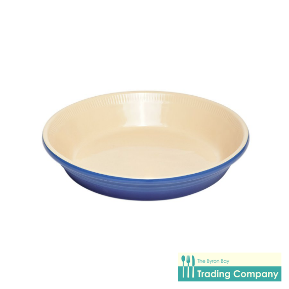 Chasseur La Cuisson Pie Dish Blue-Byron Bay Trading Company
