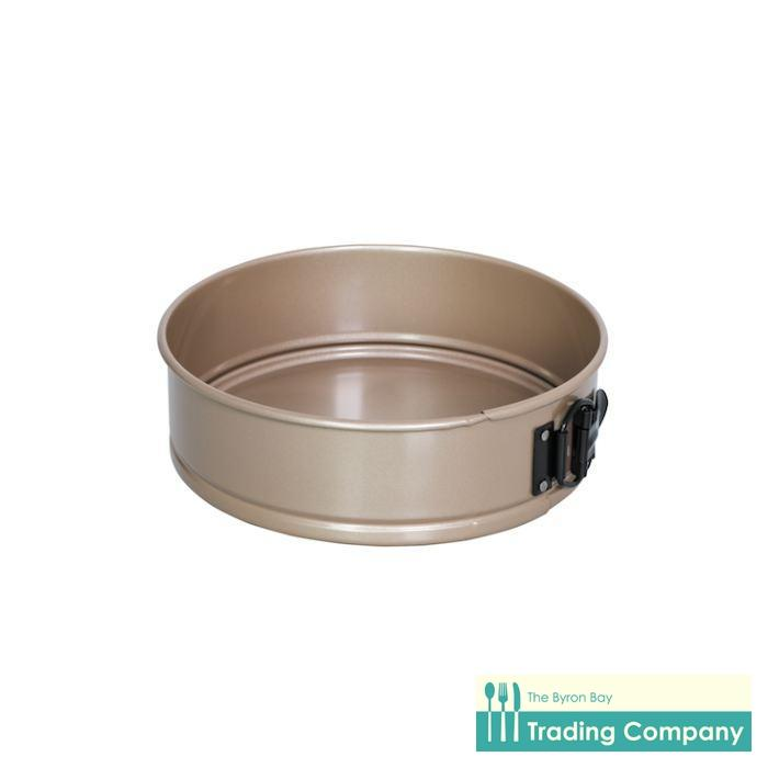 International Bakeware Round Springform Pan Gold 23x7cm-Byron Bay Trading Company