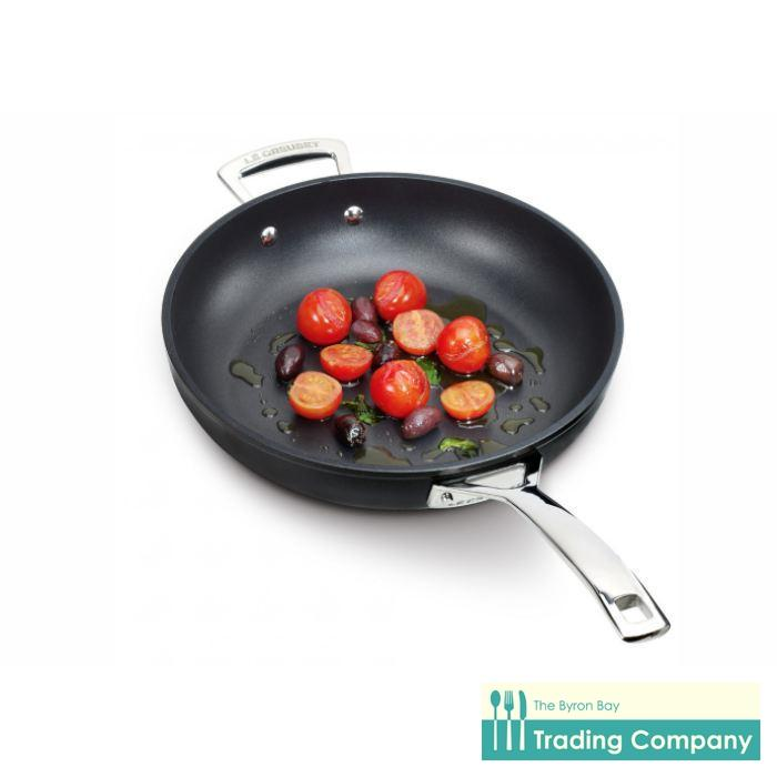 Le Creuset Toughened Non Stick Deep Frypan 28cm-Byron Bay Trading Company