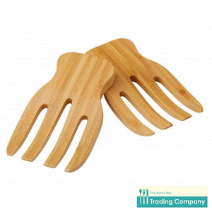 Bamboo Salad Hands Set/2