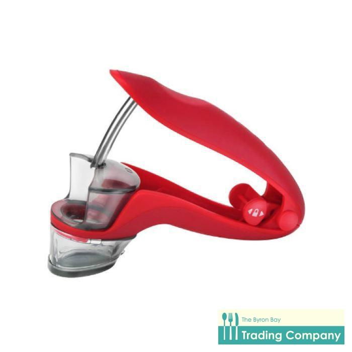 Zyliss Cherry/Olive Pitter-Byron Bay Trading Company