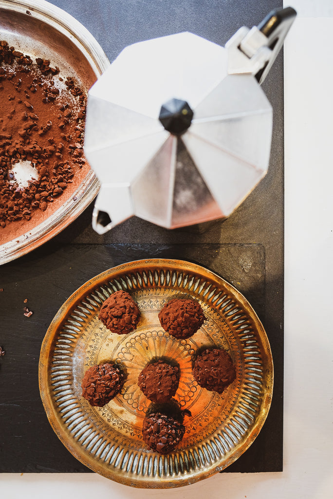 Sarah and Olive - Chocolate and Olive Oil Truffles Recipe