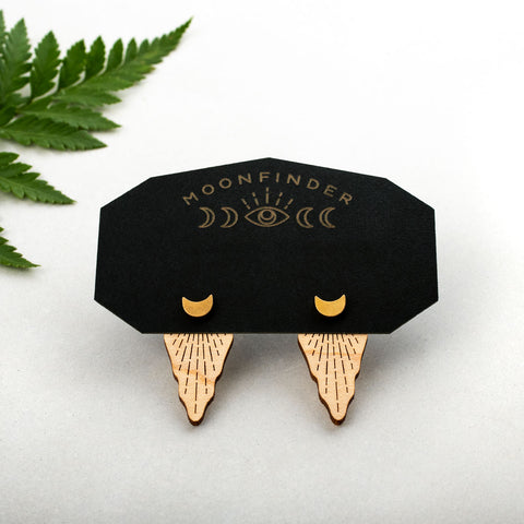 Moonlight Ear Jacket Studs