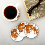 Wooden Full Moon Coasters