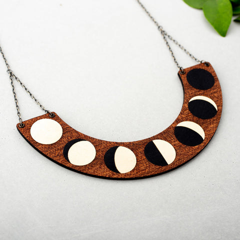 Mystical Moon Phase Necklace