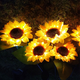 [US Warehouse] 2 Pack Solar Sunflower Outdoor Garden Light