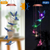 【US Warehouse】RGB Solar LED Butterfly Wind Chimes