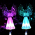 Solar Powered Fiber Optic Angel Decorative Lights