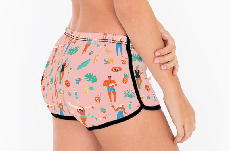Beach Party Retro Short