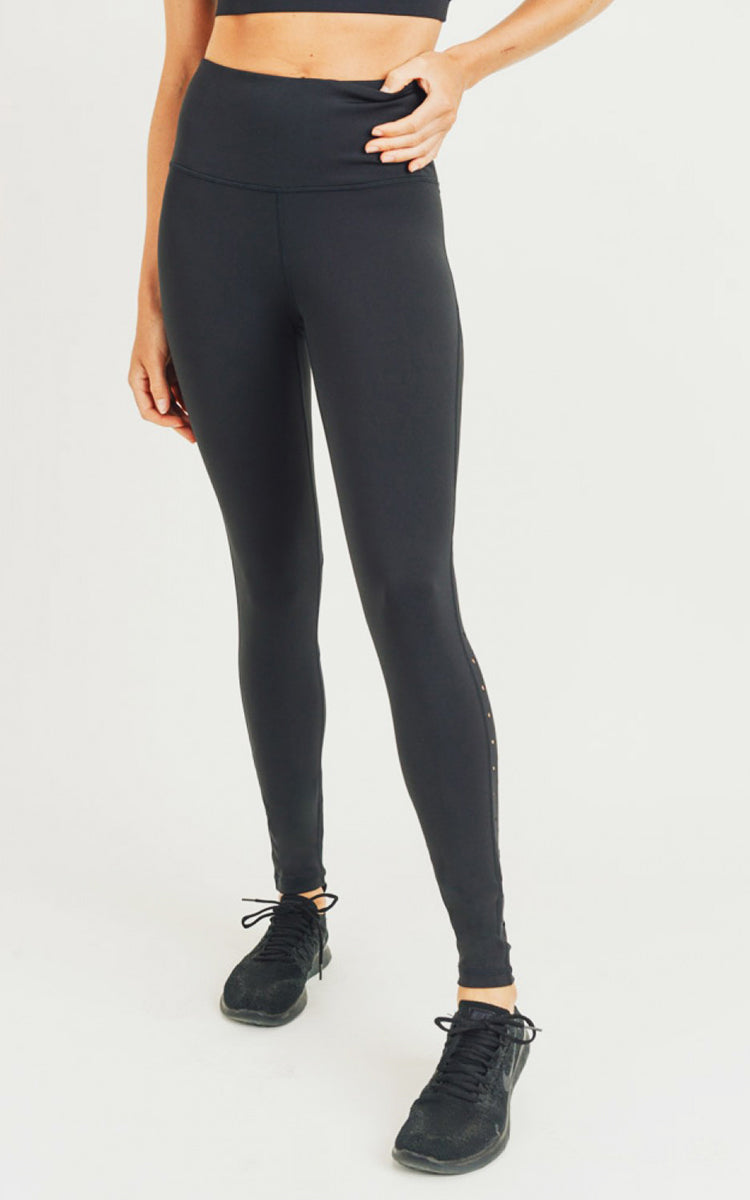 Perforated H/R Legging