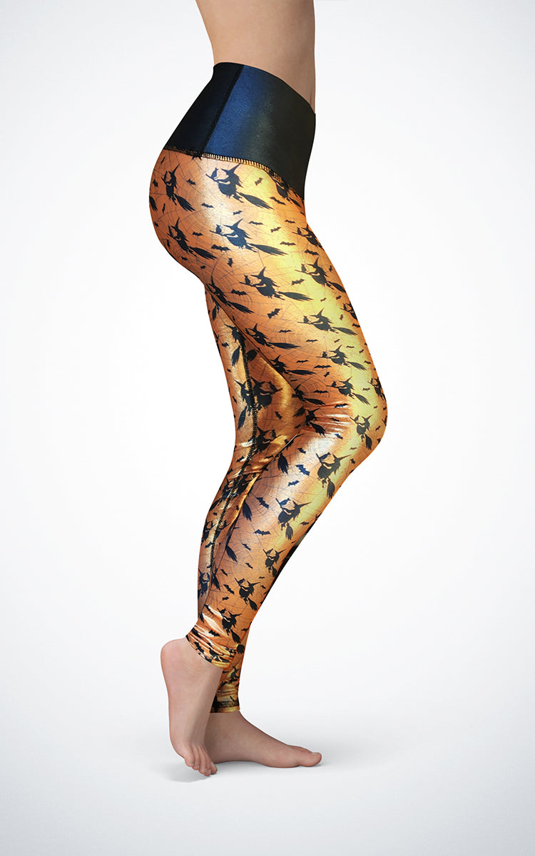 Witch Hunt H/R Glossy Legging