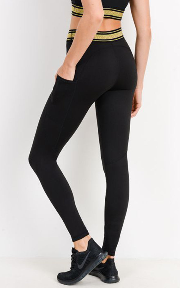 Gold Dust H/R Legging