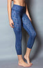 Blue Honey Reversible Capri