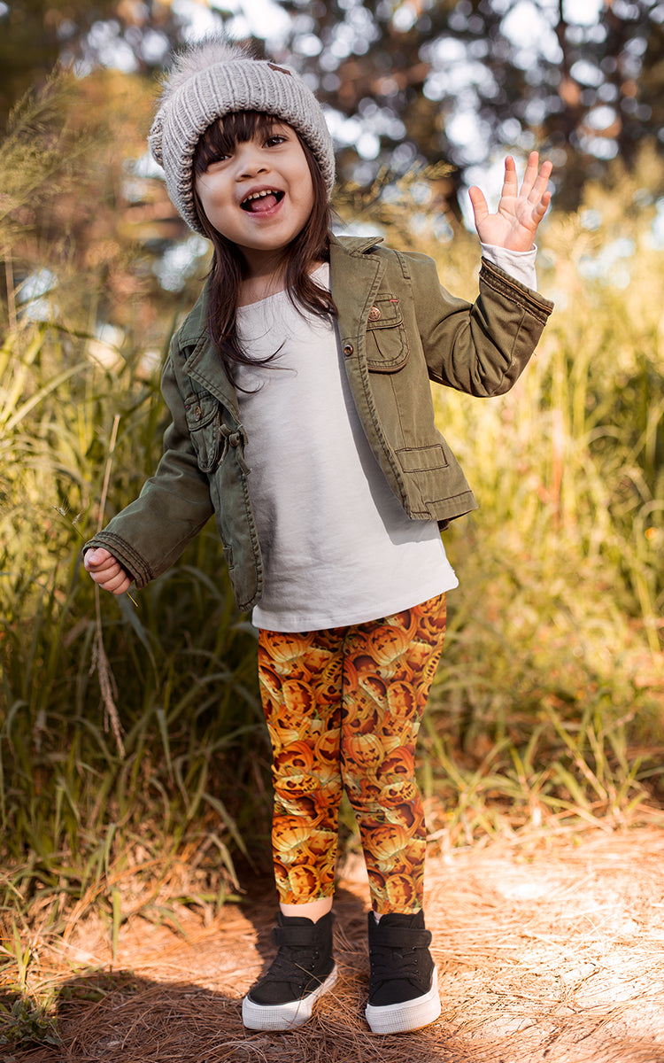 Pumpkin Pants Kids Legging