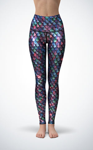 Mermaid H/R Glossy Legging