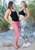 Palm Sunset Reversible Capri