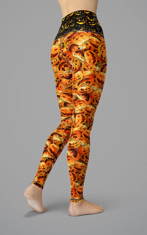 Pumpkin Pants H/R Legging