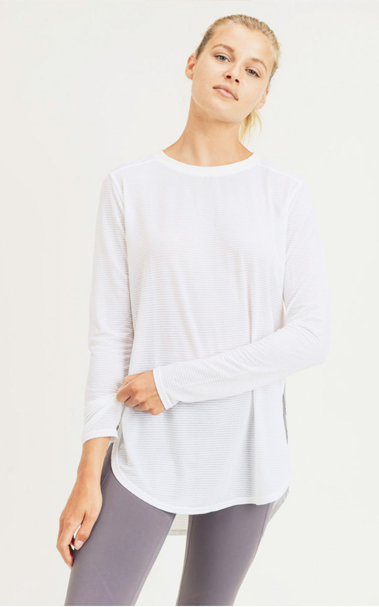 Ribbed Flow Top