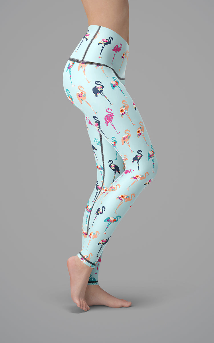 Flamingo Dance H/R Legging