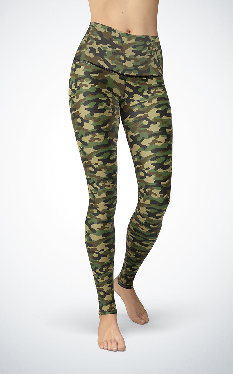 Basic Camo H/R Legging