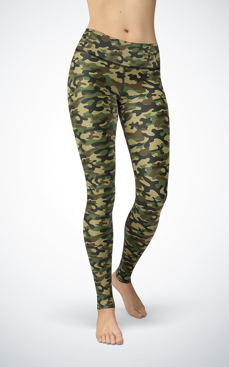 Basic Camo M/R Legging