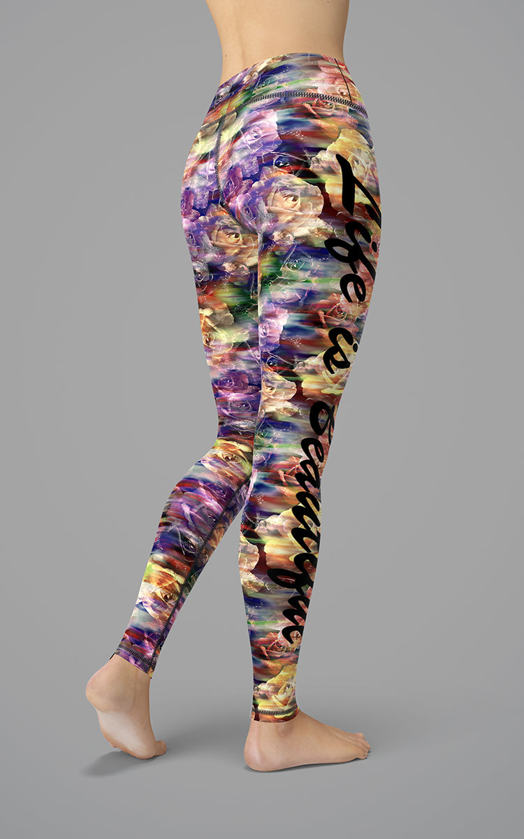 Life is Beautiful M/R Legging