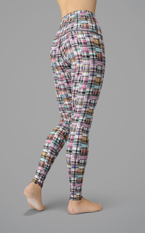 Happy Plaid H/R Legging