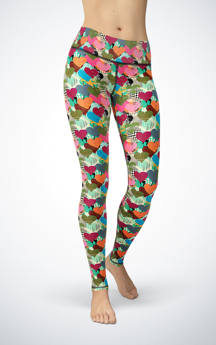 Pop Heart M/R Legging