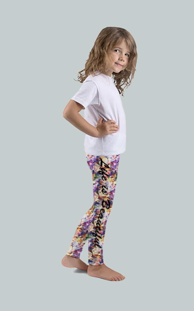 Life is Beautiful Kids Legging