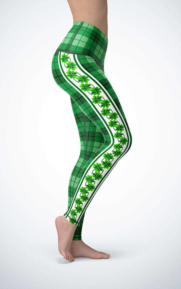 Lucky Plaid H/R Legging