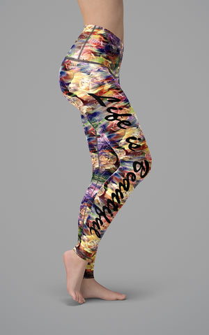 Life Is Beautiful H/R Legging