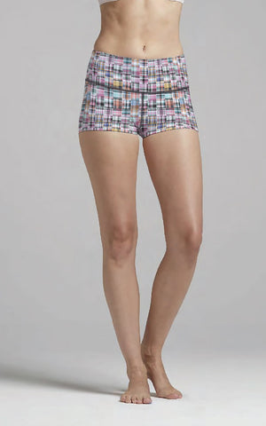 Happy Plaid M/R Short
