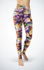 Abstract Roses H/R Legging