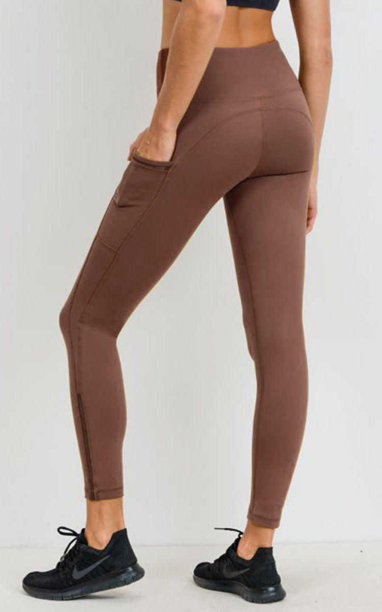 Dusty Rose H/R Legging