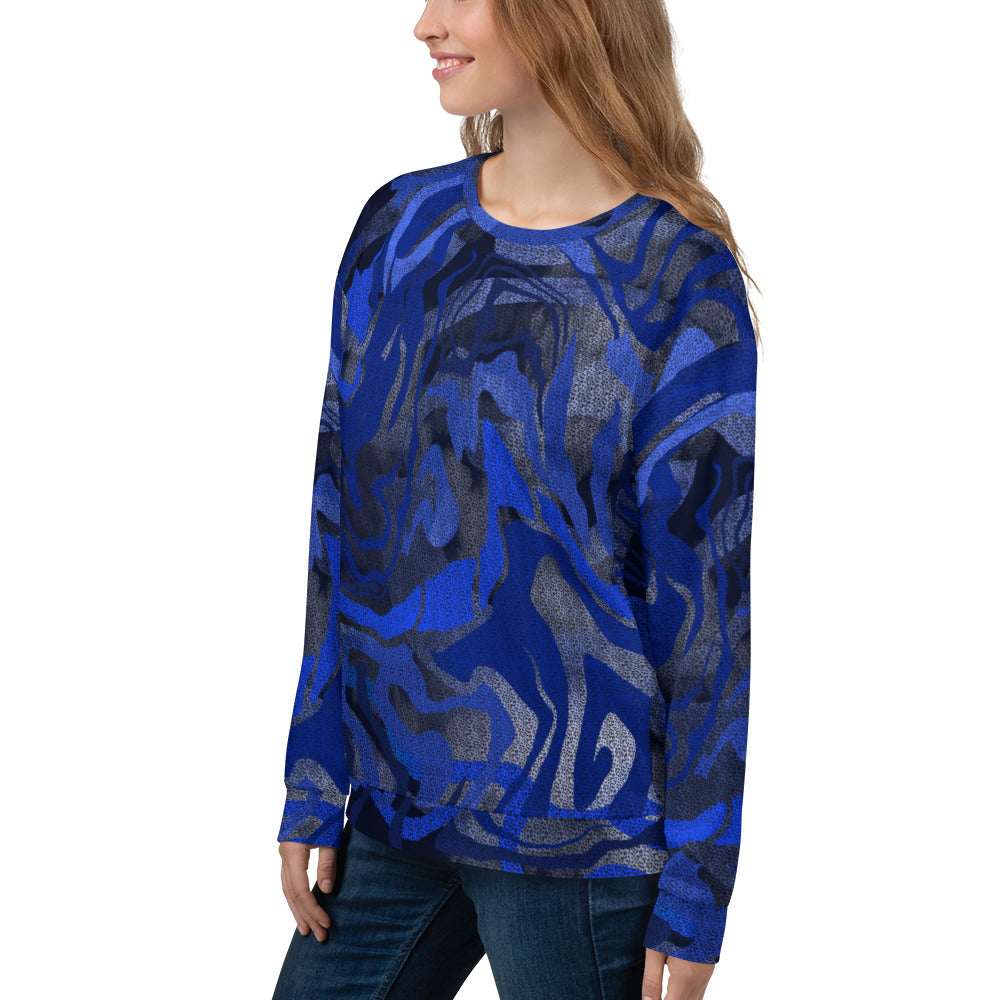 Blue Galaxy Sweatshirt