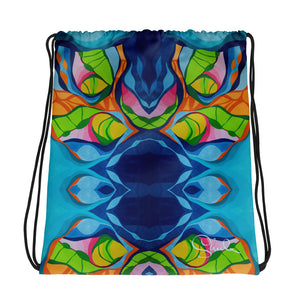 Deep Sea Drawstring Bag