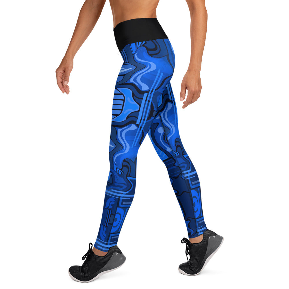 Blue Magic Yoga Leggings