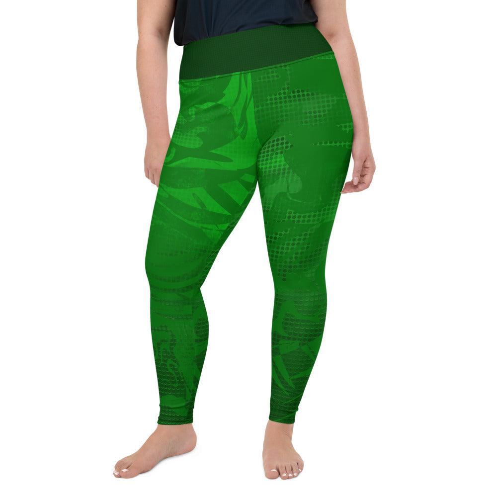Fern Curvy Leggings