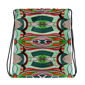Roussillon Jade Drawstring Bag