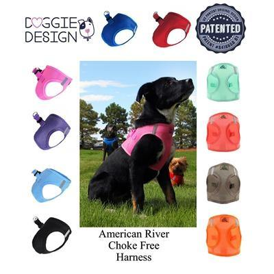 American River Ultra Choke Free Soft Mesh Dog Harness - Posh Pet Glamour Boutique